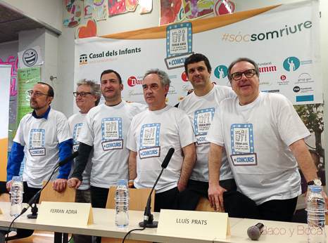 Ferran Adrià y La Fabrica del menjar solidari y VermutSolidario