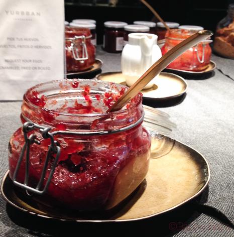 mermelada-desayuno-yurbban-hotel-barcelona
