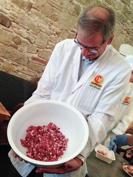 carne macerada Jaume Casademon charcuteria gourmet bacoyboca