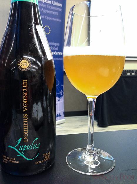 Dominus Vobisqum lupulus cerveza artesana canadiense baco y boca_