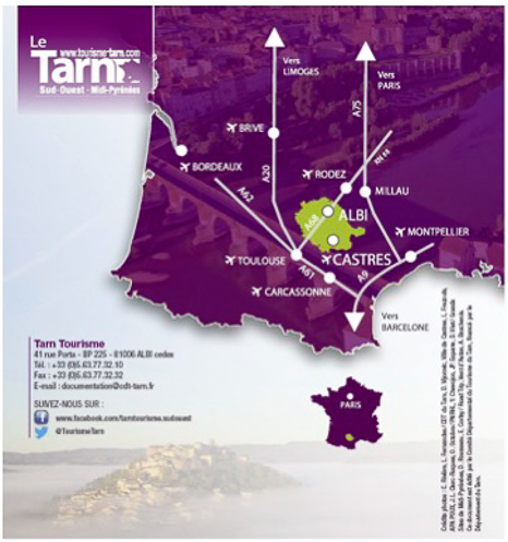 Le Tarn: turismogastronómico