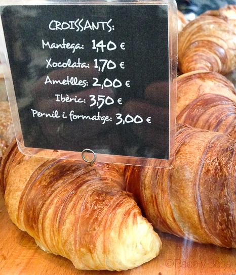 croissants variados Giulietta Cafe Baco y Boca