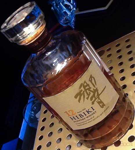 Hibiki Santory Whisky solange baco y boca