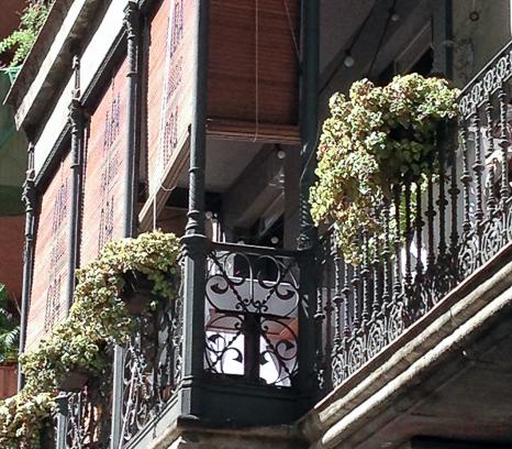 Balcon Alba Granados bacoyboca