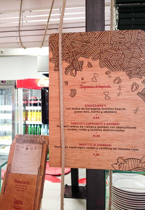 carta de temporada Davita Italian gastro Market baco y boca