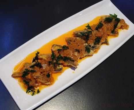 Escabeche de sardinas y caballa Tatau Bistro Baco y Boca