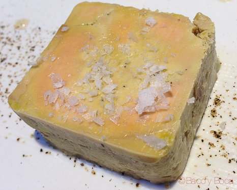 Mucuit de Foie elaboración propia Tatau Bistro Baco y Boca