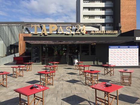 restaurante Carles Abellan Tapas 24 Barca