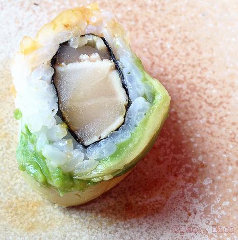 Sushi pez mantequilla Cdlc Barcelona Carpe Diem Baco y Boca