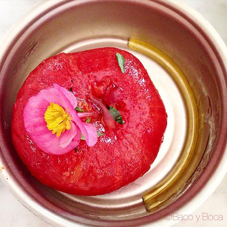 tomate El sortidor de la Filomena Pages Baco y Boca