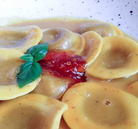 tortellini foie Davita Italian gastro Market baco y boca