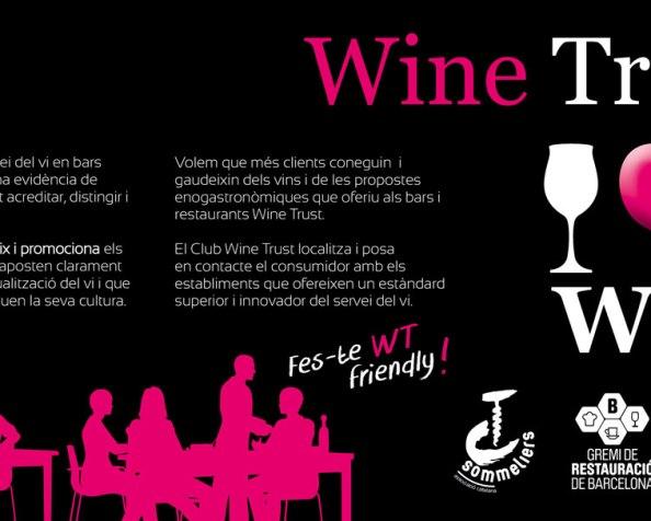 Nace Wine Trust como sello distintivo para larestauración