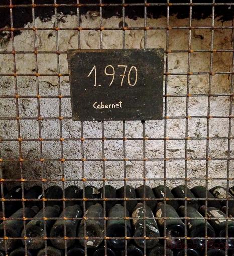 cabernet 1970 lalanne Somontano baco y boca