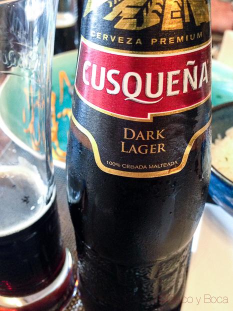 Cusqueña dark lager The market Barcelona Baco y Boca