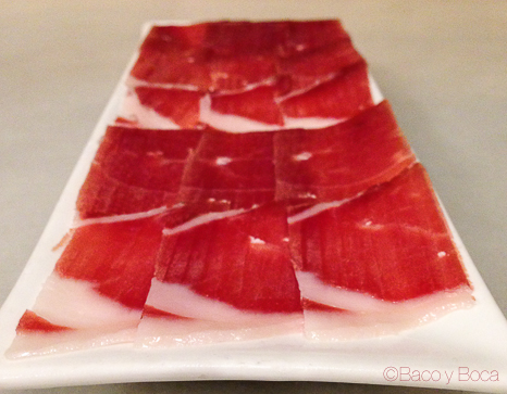 jamon Pitapes Granollers baco y boca