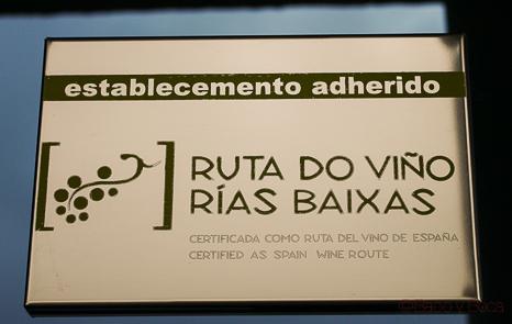 ruta do viño rias baixas bodegas Martin Codax Baco y Boca