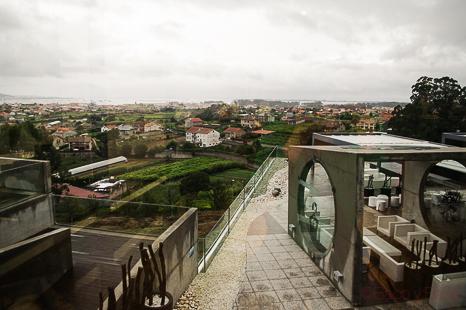 vistas bodegas Martin Codax Baco y Boca
