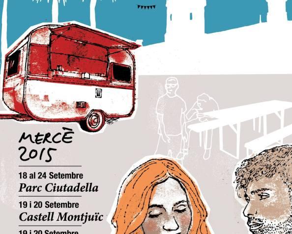 Van Van Mercat Gastronòmada en las Festes de laMercè
