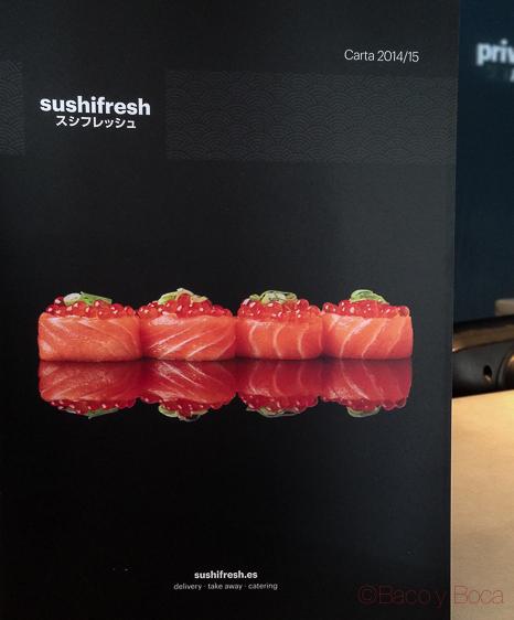 Comida a domicilio sin prisa:SushiFresh