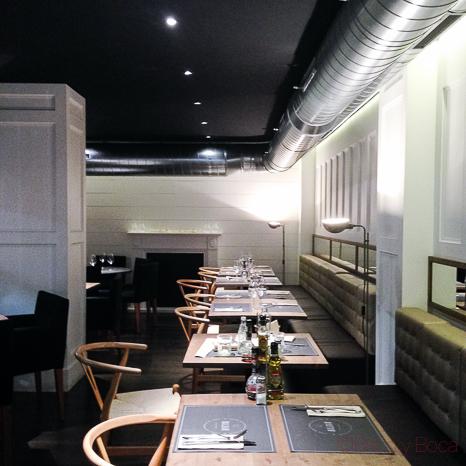 Interior Restaurante Malgam Baco y boca