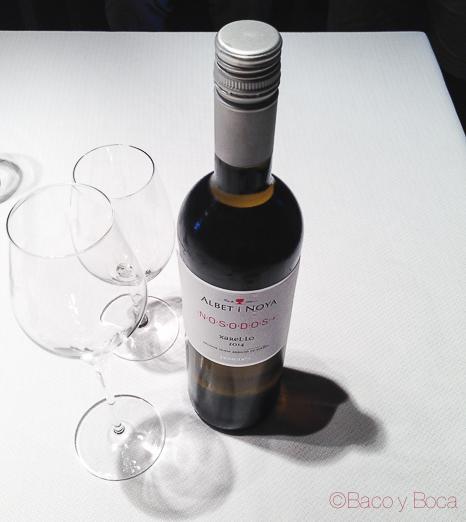 Nosodos Vino blanco natural Albet i Noya Baco y Boca