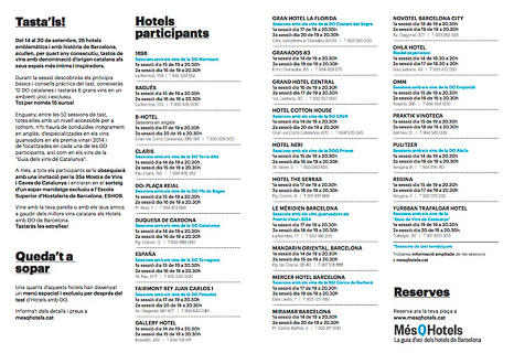 programa hotels amb do