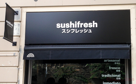 Rotulo sushifresh baco y boca