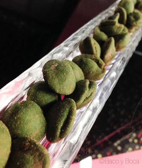 cacahuetes con wasabi Orbital Barcelo Sants baco y boca