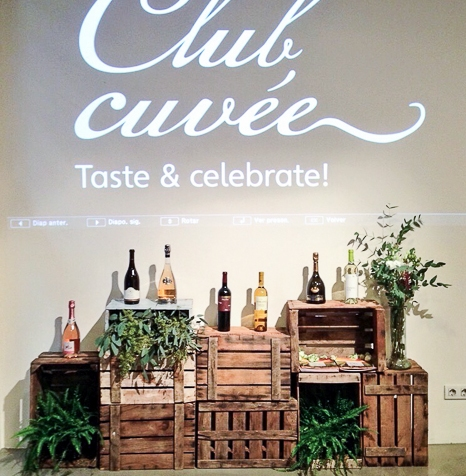Club Cuvee deFreixenet.