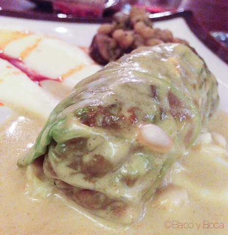 Involtini de col 62 escalones eatwith vegetariano bacoyboca