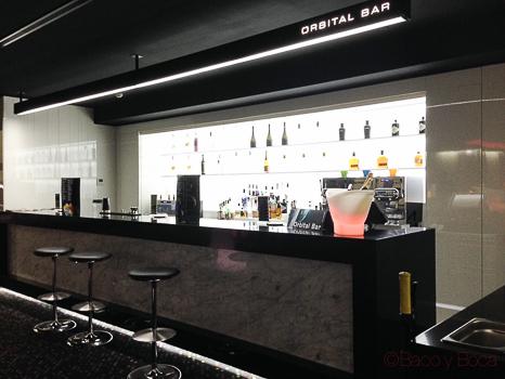 Orbital Bar Barcelo Sants baco y boca