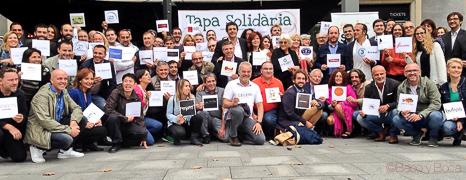 Restaurantes tapa solidaria baco y boca