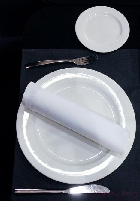 Srvicio restaurante hidrogen Barcelo Sants baco y boca