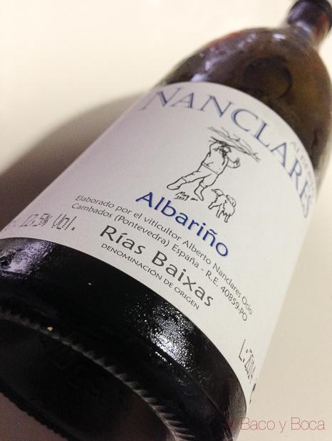 Alberto Nanclares albariño baco y boca