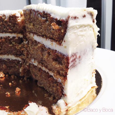 Carrot cake Fira Tapa Girona baco y boca