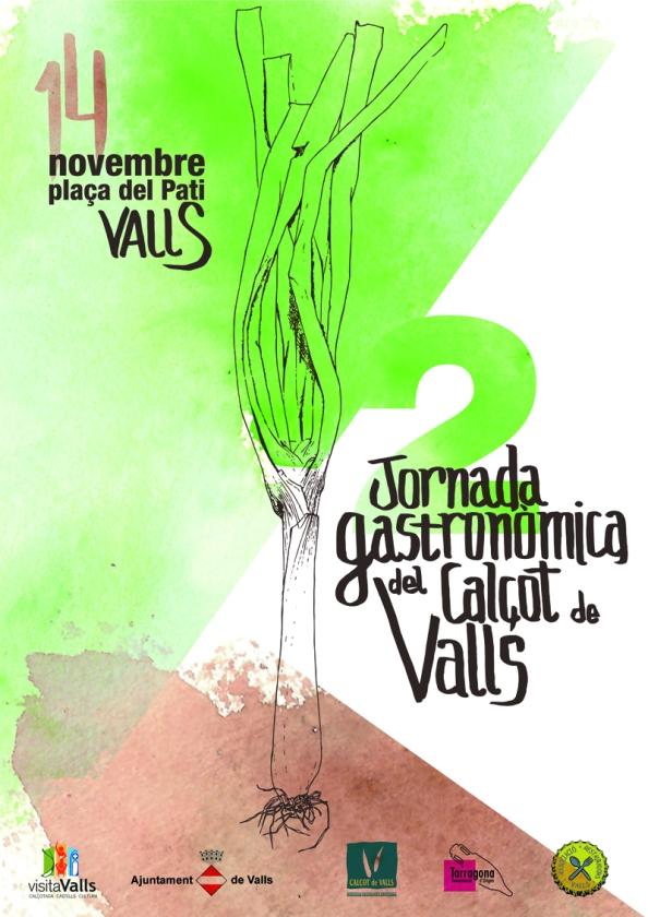 Cartell_II Jornada Gastronomica del Calçot de Valls