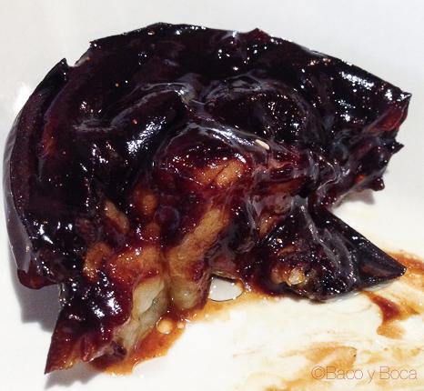 Ka misoyaki Berenjena con salsa de miso dulce Koryo baco y boca