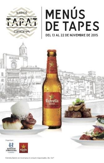 Llibret Tapa't Girona 2015