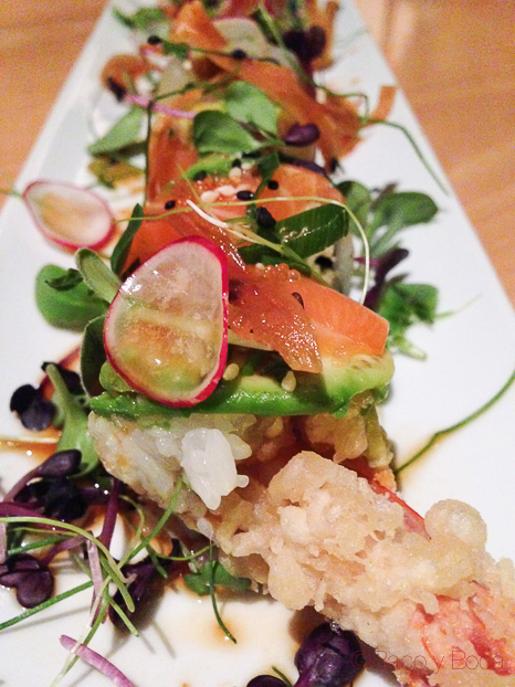 urakami de luxe tempura sakura rainbow Shibui Barcelona baco y boca
