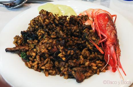 arroz gamba de vilanova La pepa del mar Sitges Baco y Boca origens garraf