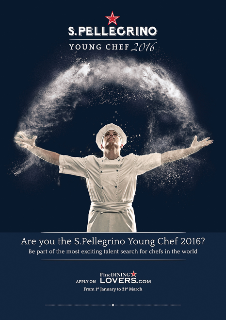 Sant Pellegrino Young Chef 2016 Logo