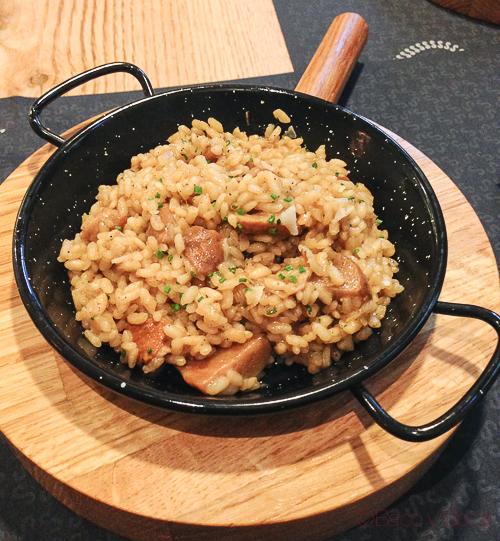 arroz y setas Singular Baco y Boca