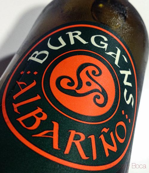 botella Burgans Albariño Baco y Boca
