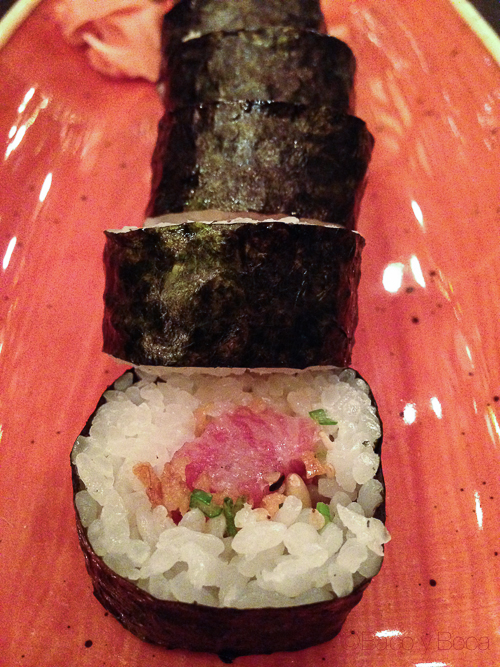 maki sushifresh sake bacoyboca