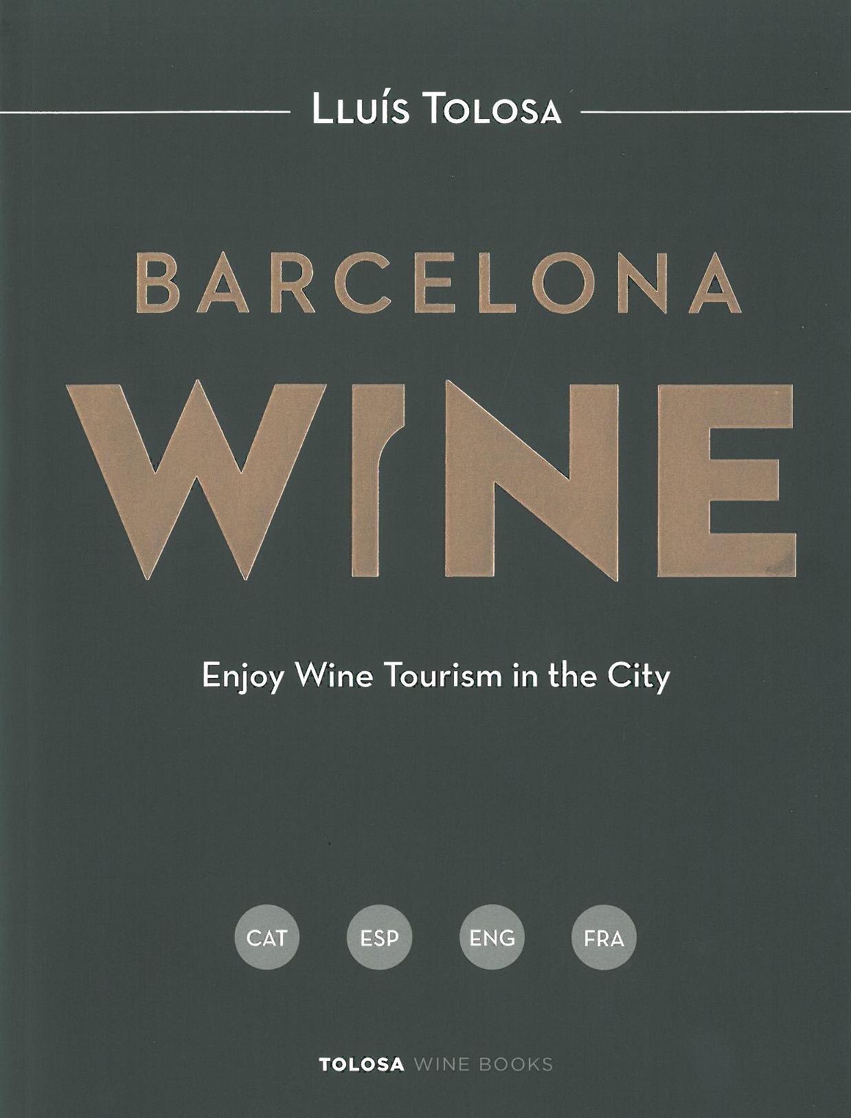 Portada llibre Barcelona Wine - Lluís Tolosa