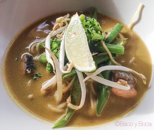 sopa thai abrassame las arenas baco y boca