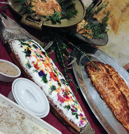 pastel pescado salmon mascaras cubat baco y boca