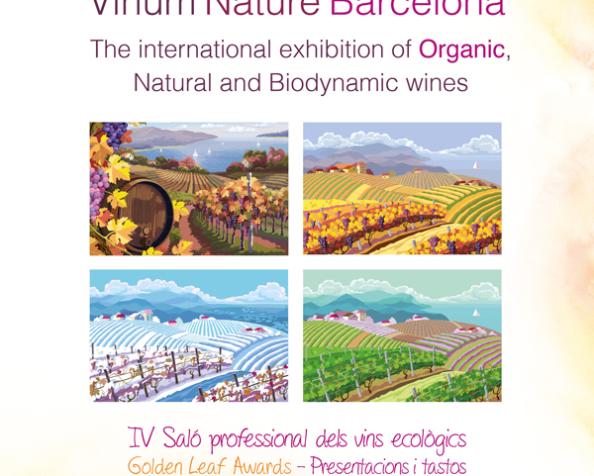 Salón Internacional de los vinos ecológicos de Barcelona.VN·bcn'16