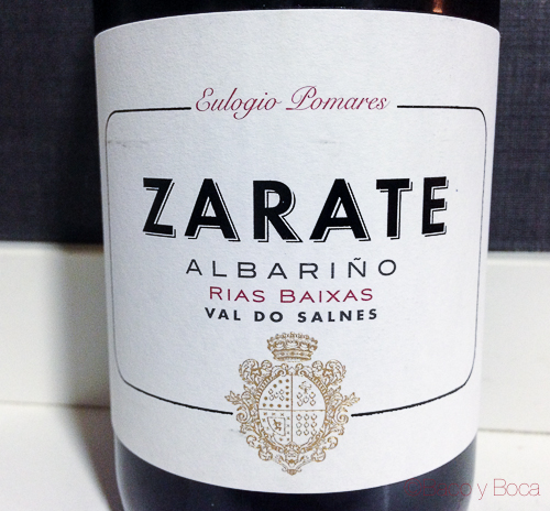 Zarate 2014 (DO Rias Baixas-Valle de Salnés)