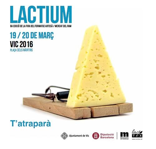 Lactium, la Feria del Queso Artesano enVic